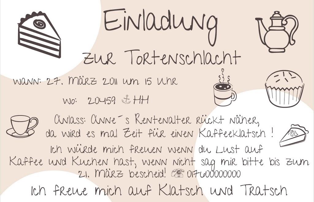 Einladung Kaffeeklatsch Animefc Info