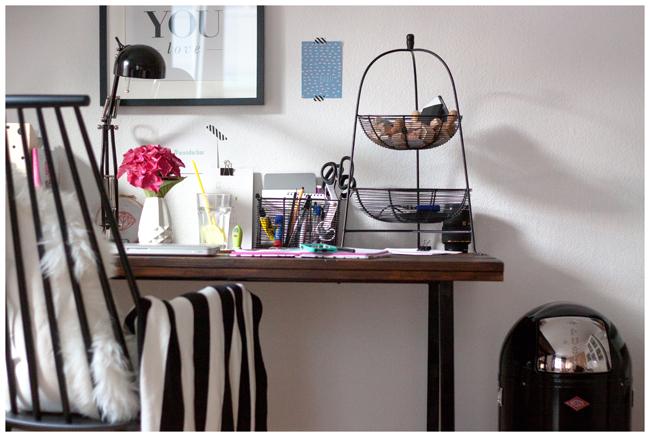 Ein blick in meine wohnung mein schreibtisch ein mix for Wohnung designer programm