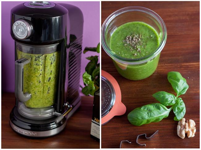 Pesto-im-Blender-und-Glas