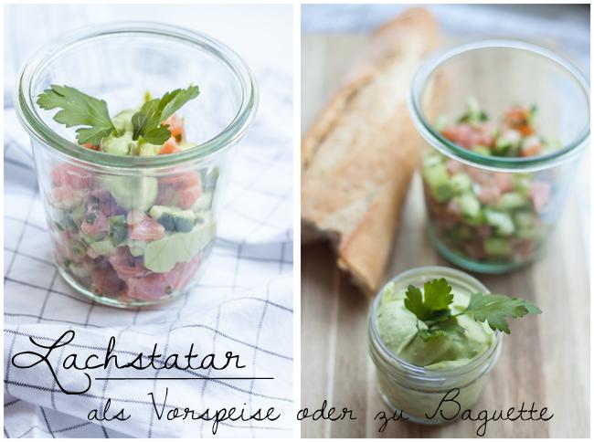 Lachstatar als Vorspeise_oder-zu-Baguette