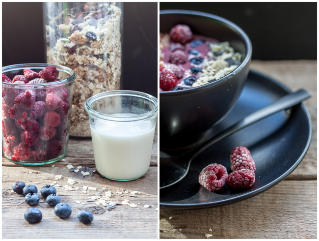 Collage-Smoothiebowl