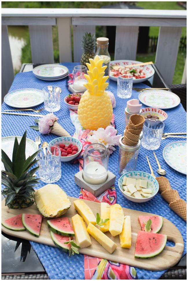 Ananas-Fiesta-Dessert-Grillen