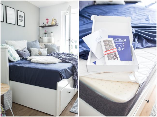 Gästebett für den perfekten Schlaf mit Brunobett Matratze