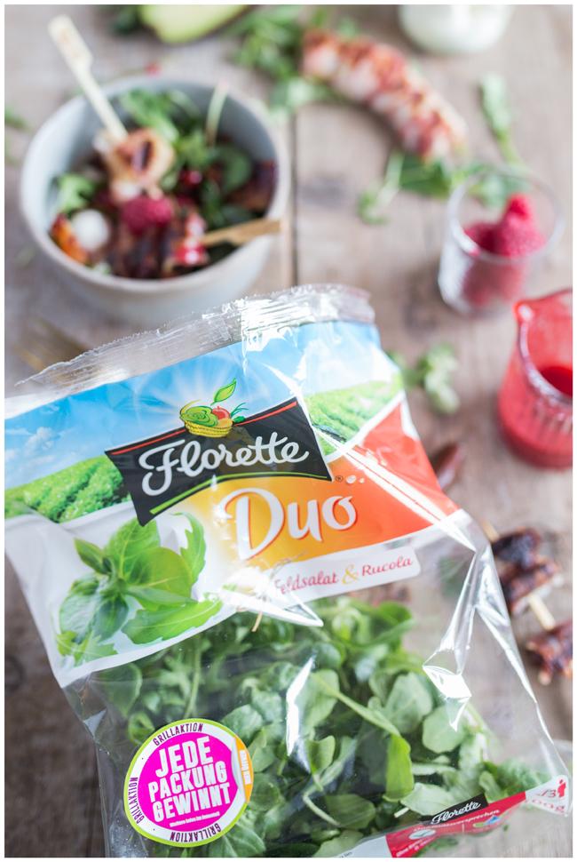 Florette Salat DUO Feldsalat & Rucola