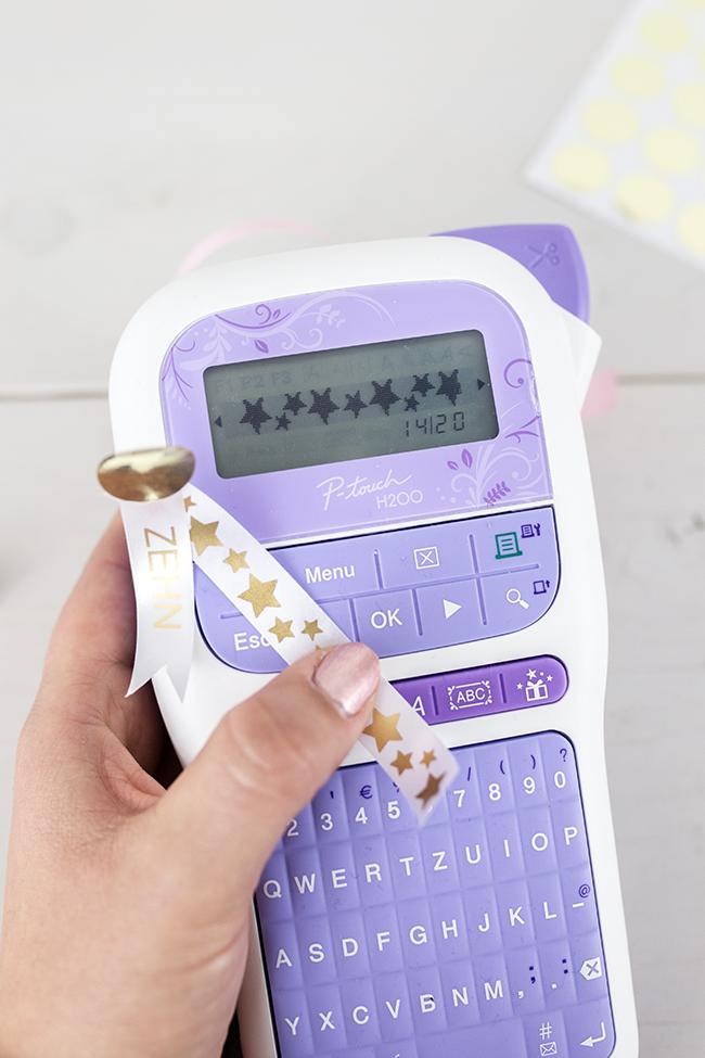 Brother P-Touch H200 für individuelle Textilbänder