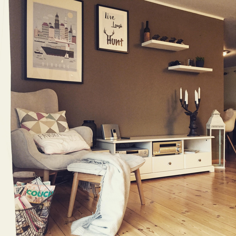 Stilmix im Wohnzimmer