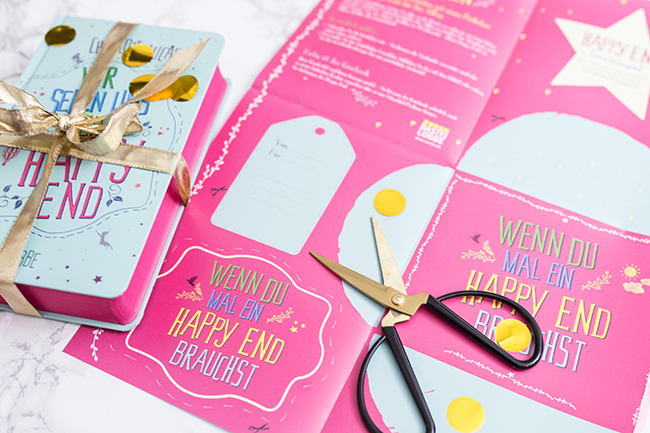 Bastelbogen zum Buch Wir Sehen Uns Beim Happy End