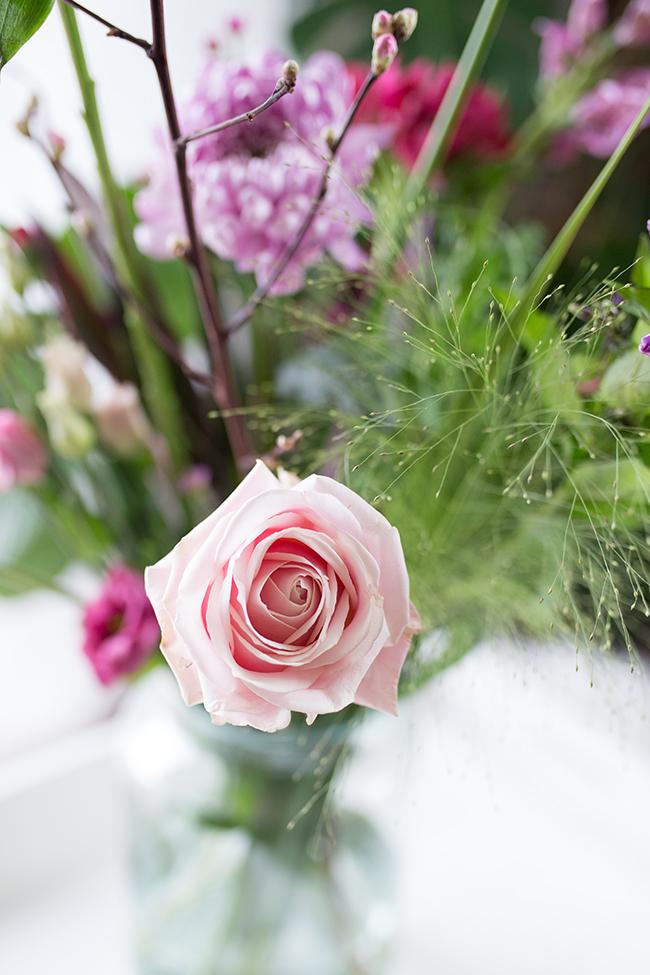 rosa Rose aus Bloomon Bouquet