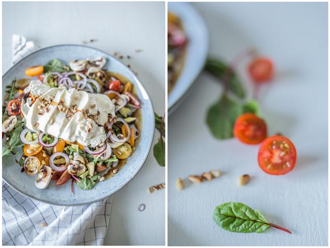 Sommersalat Burrata & Tomate