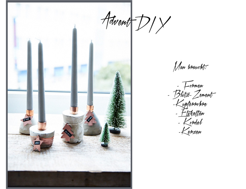 advent advent ein lichtlein brennt adventskranz diy mit beton hafenmaedchen. Black Bedroom Furniture Sets. Home Design Ideas