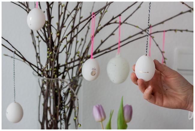 Osterstrauch-DIY-Eier-
