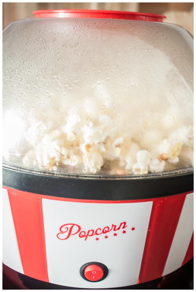 Popcornmaker rot/weiß