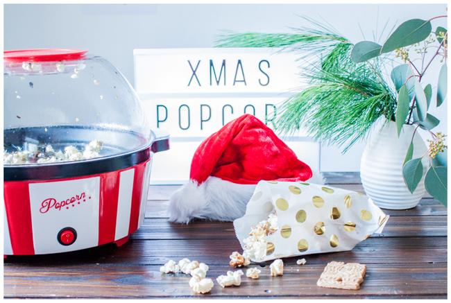 Popcornmaschine Weihnachtspopcorn Spekulatius