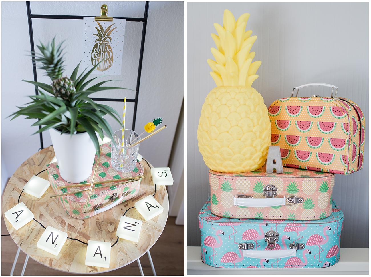 Originelle Geschenkideen zum Thema Ananas