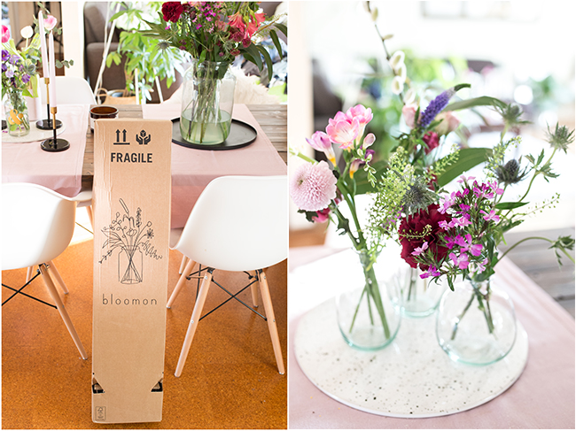 Bloomon Bouquet im Paket Neue Lieferung
