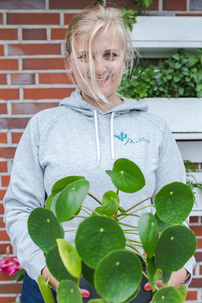DIY Plantlover Pulli Pilea