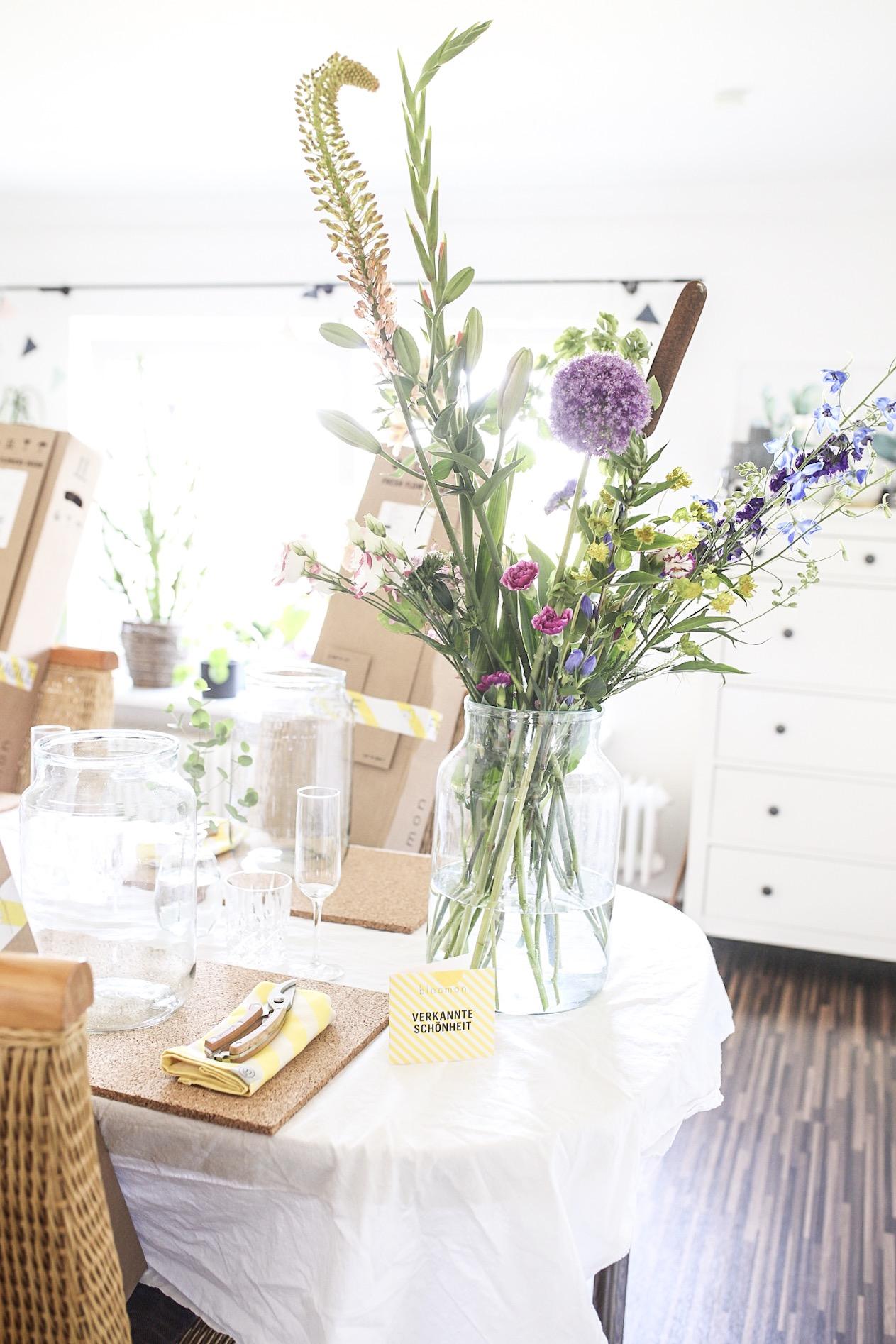 Bloomon Bouquet L und Starter Kit mit Blumenschere