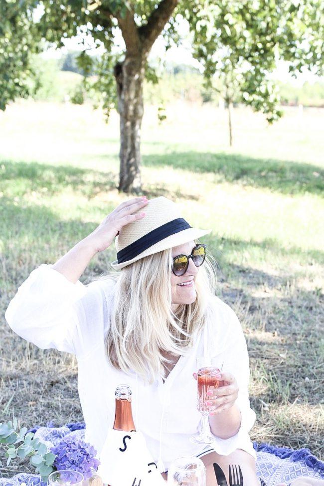 Cheers mit Rosé Crémant der Loire