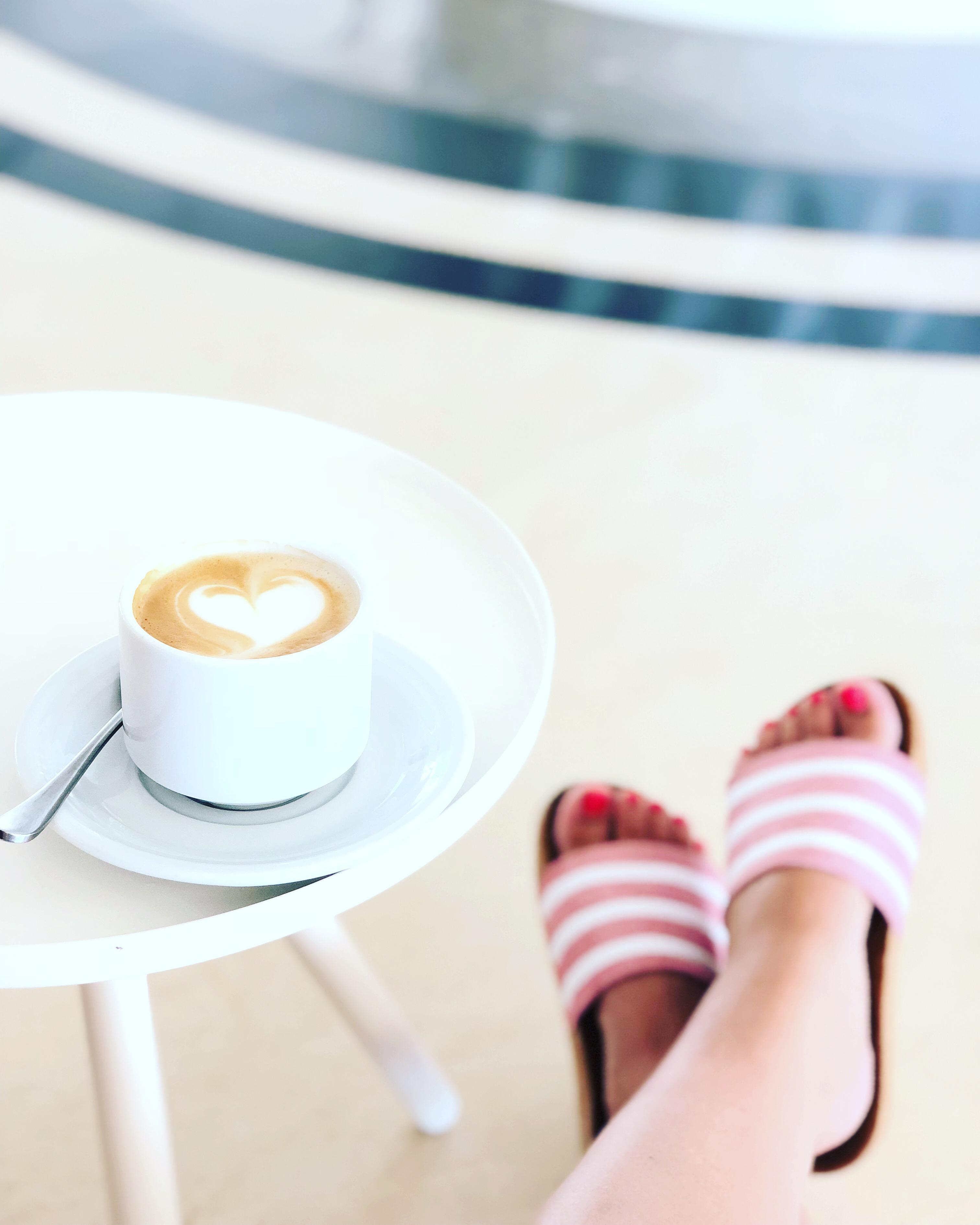 Cappucino Latte Art Herz