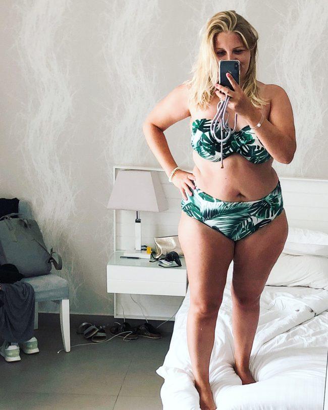Body Positivity Bikinifoto