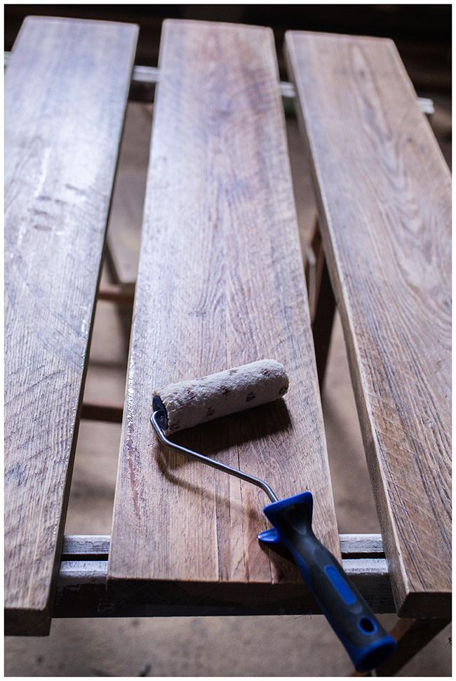 Holzdielen versiegeln