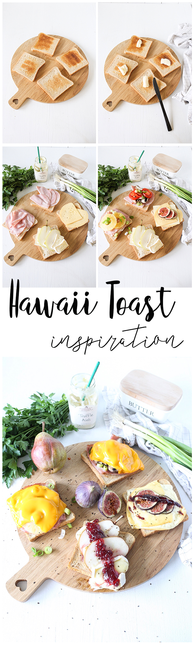Toast Hawaii Inspirationen