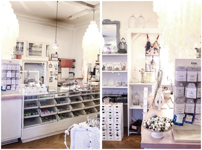 Verkaufstresen & Schmuck bei Nordlys Eppendorf