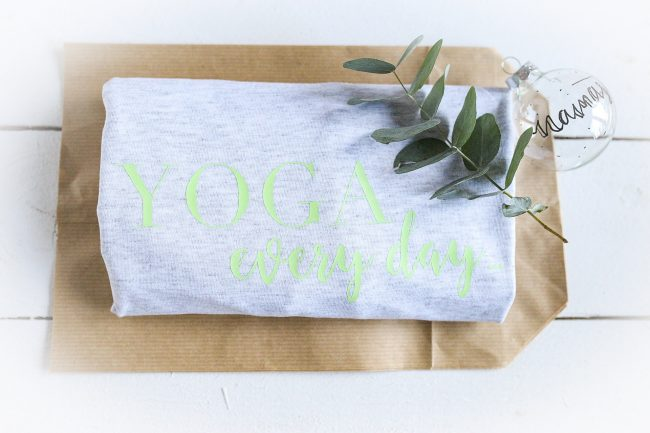 Yoga every Day - geplottetes T-Shirt