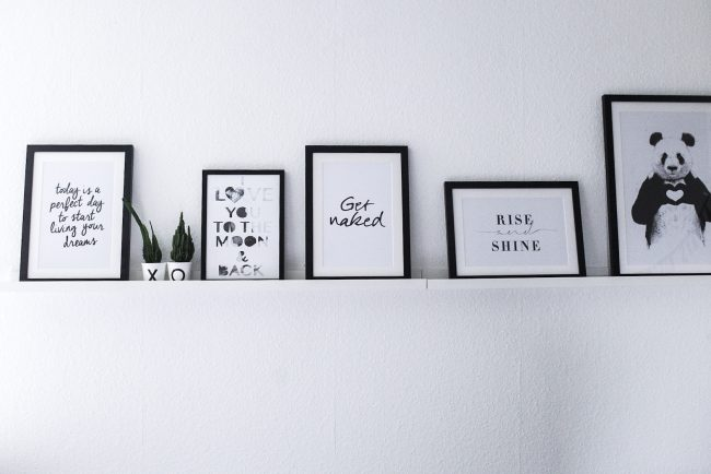 Plotter DIY  Valentinestag  - Bilderrahmen für Verliebte Bilderleiste im Schlafzimmer