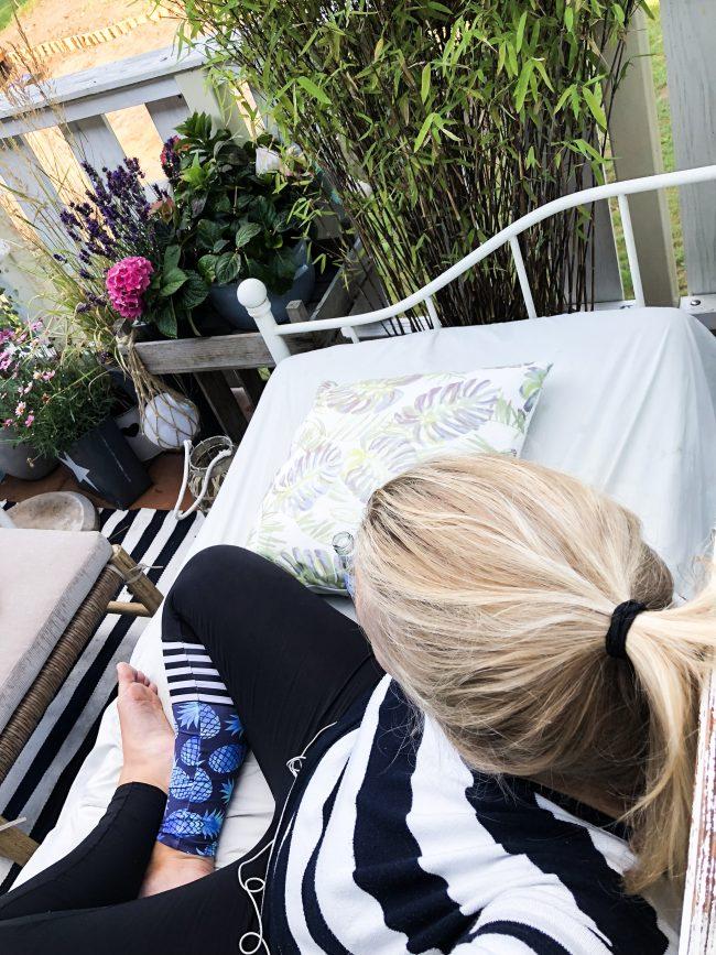 Landleben- Entspannter Weitblick auf Balkonien