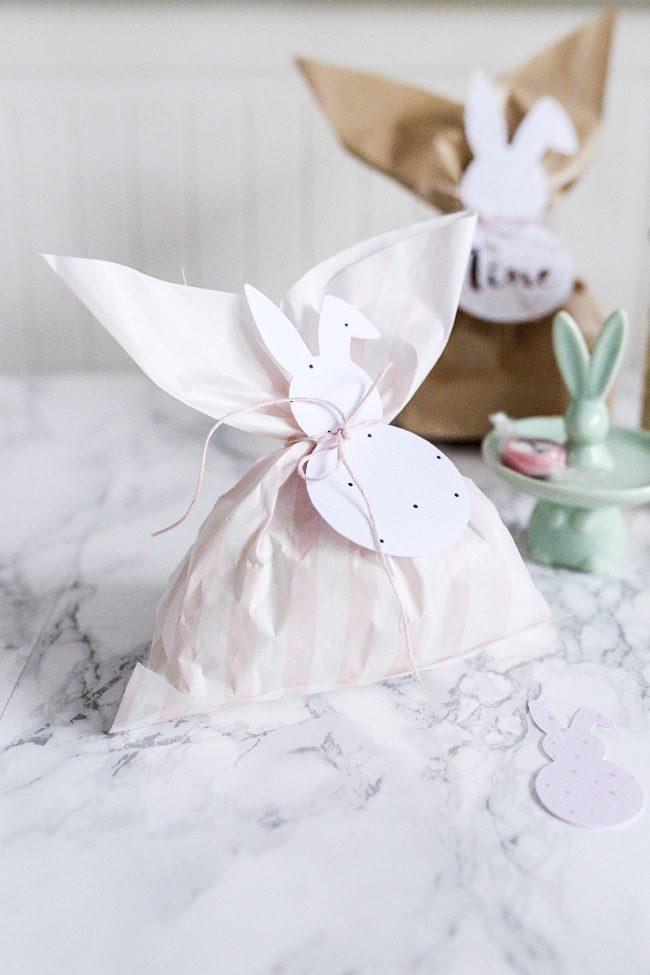 Osterhasen Tüten in rosa