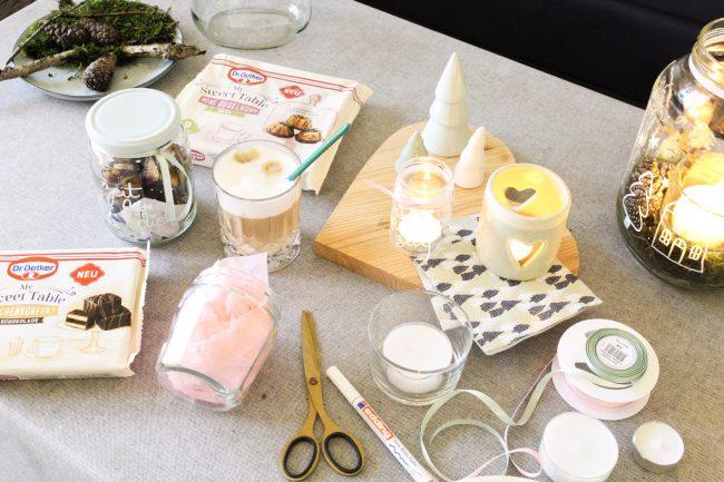 DIY Zeit - Kerzengläser gestalten