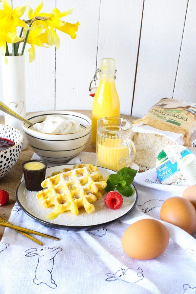 Eierlikörwaffeln - Rezeptidee zu Ostern