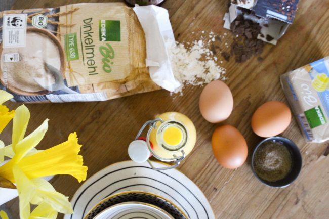 Zutaten aus dem Vorratsschrank - Eierlikörwaffeln - Rezeptidee zu Ostern