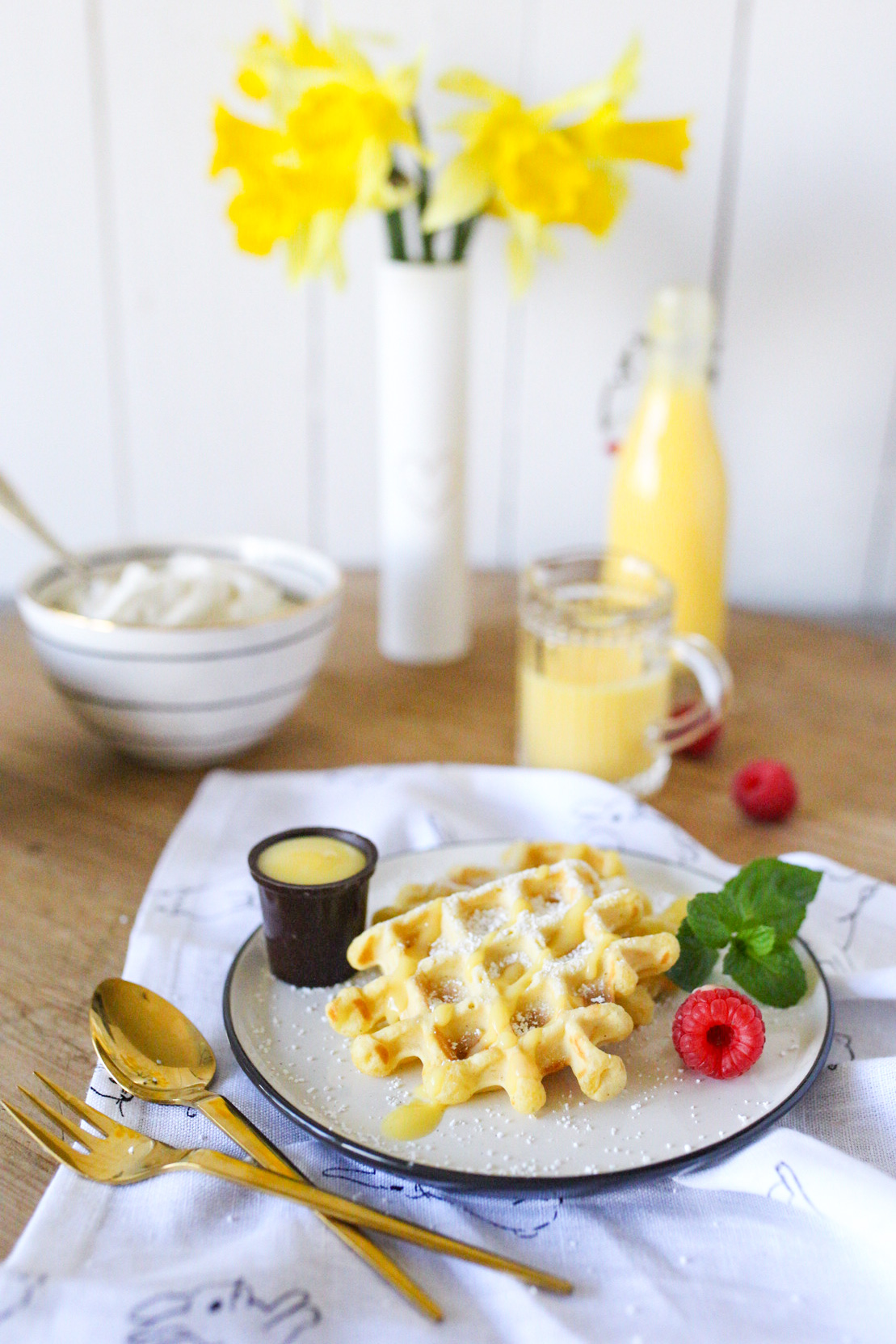 Eierlikörwaffeln - Ostern aus dem Vorratsschrank mit Edeka - ein Rezept für dich