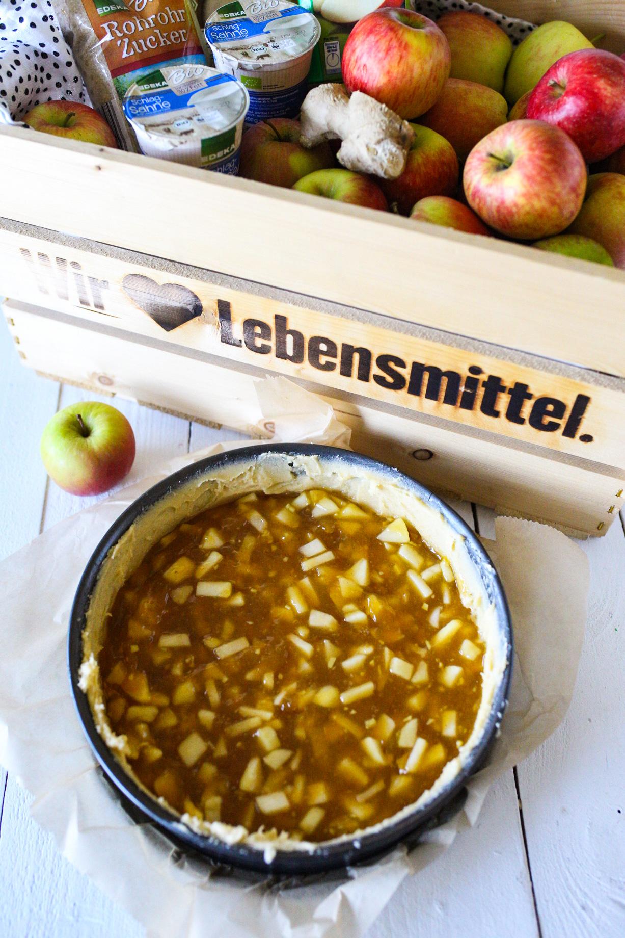 Wir lieben Lebensmittel. EDEKA - Rezept Apfel Schmand Torte
