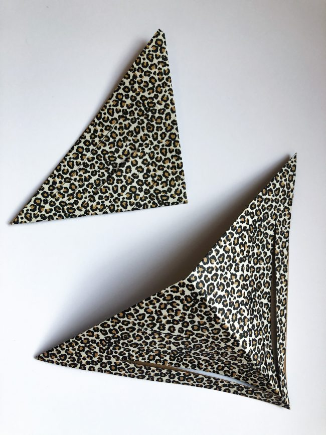 DIY 3D Stern - Faltanleitung