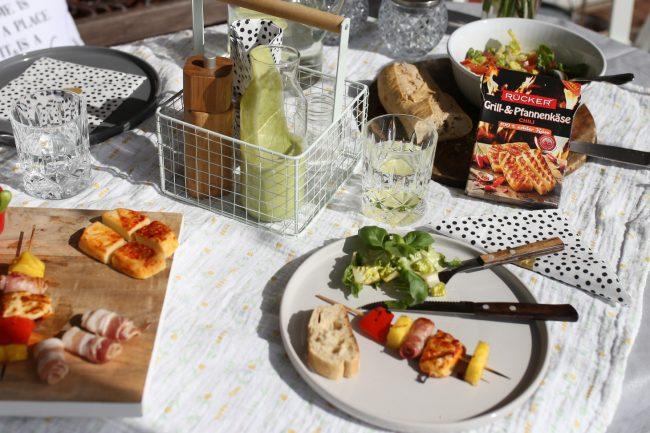 Rücker Grill- & Pfannenkäse als Grillspieße für den nächsten Grillabend
